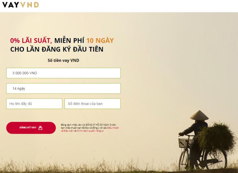 VAY VND – Sự lựa chọn mới cho khoản vay dưới 10 triệu online