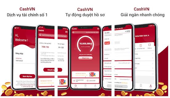 CashVN – Vay tiền online qua app, điều kiện dễ, biết kết quả nhanh